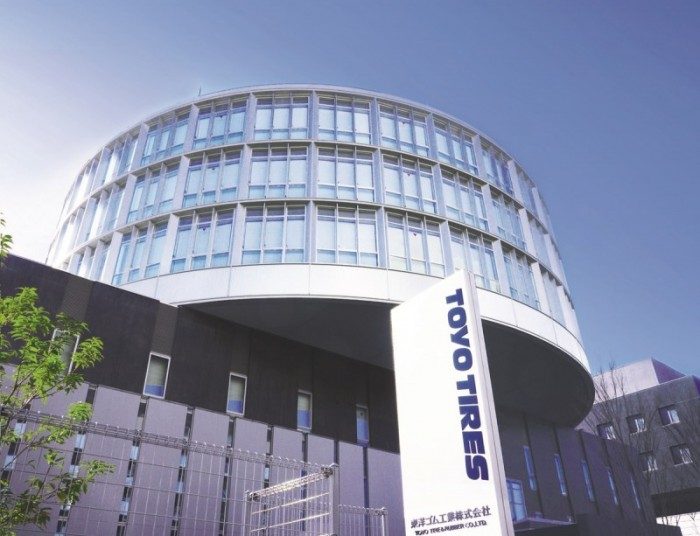 Toyo's new headquarters is adjacent to the company's Tire Technical Center