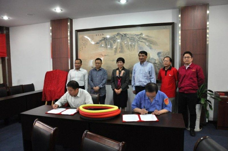 ZC Rubber and and Ningbo Institute of Materials Technology & Engineering, Chinese Academy of Sciences agree to build an eco tyre materials R&D Centre