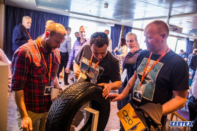 Zeetex launched its latest winter tyre range with a cruise between Hamburg and Oslo