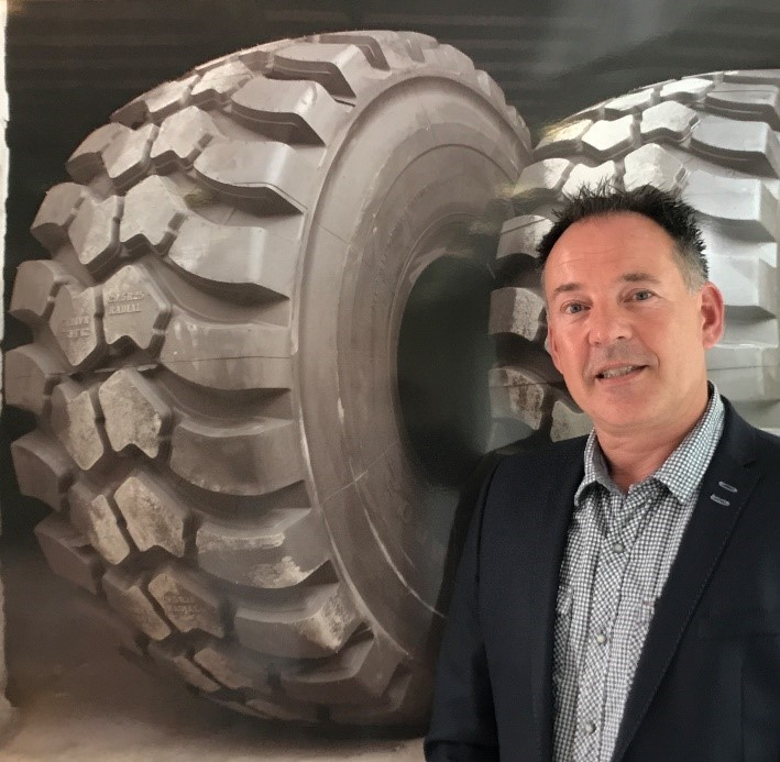 Arjen Sibon has been appointed sales manager for Magna Tyres Group
