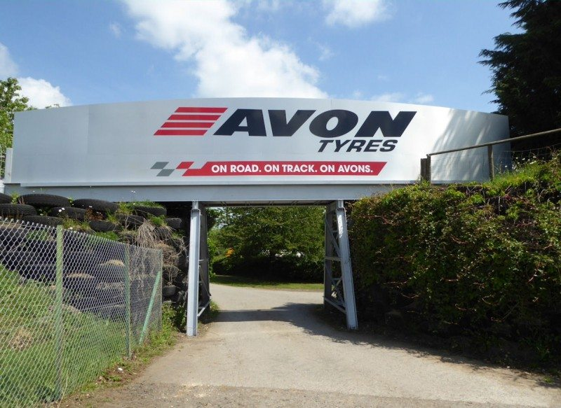 Avon sponsorship has been visible at Castle Combe since 1952