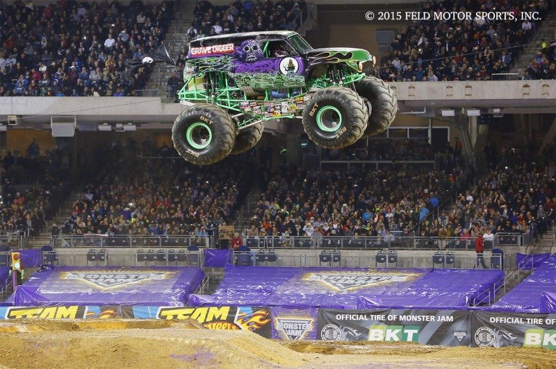 Low flying aircraft beware – Monster Jam is coming to Europe