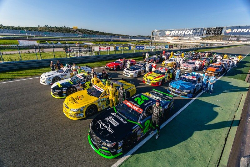 All 28 cars in the full season NASCAR Whelen Euro Series entry list are equipped with Moog steering and suspension components