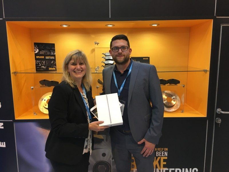 'Code Brakers' rewarded at Automechanika Birmingham