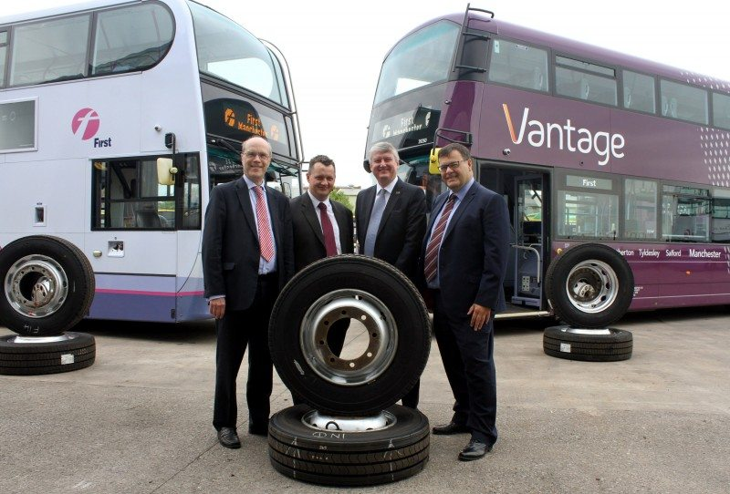 The FirstGroup fleet contract covers operations in the USA and Canada in addition to the UK, and is Bridgestone's biggest in history