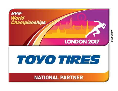 Toyo Tires become national partner of IAAF World Championships London 2017