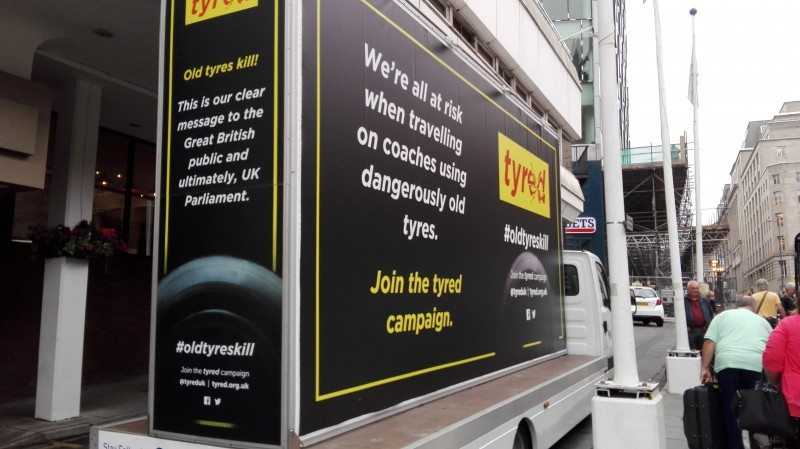 Tyred of waiting: anti tyre aging campaign gets renewed impetus
