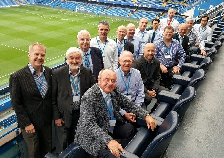 ITMA member Yokohama hosted the association's recent meeting at Stamford Bridge football stadium home of Chelsea Football Club, which Yokohama sponsors