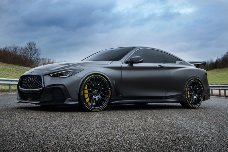 Project Black S hints at how a performance hybrid powertrain could significantly enhance the performance and dynamics of an Infiniti Q60