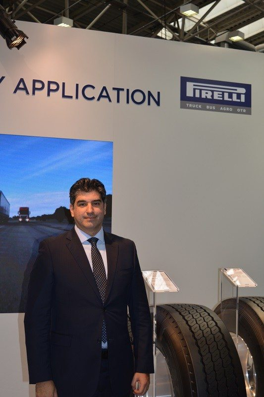 Prometeon Tyre Group chief operation officer Murillo Fonseca