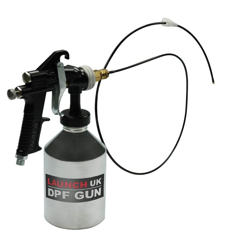 Launch's diesel particulate filter cleaning tool