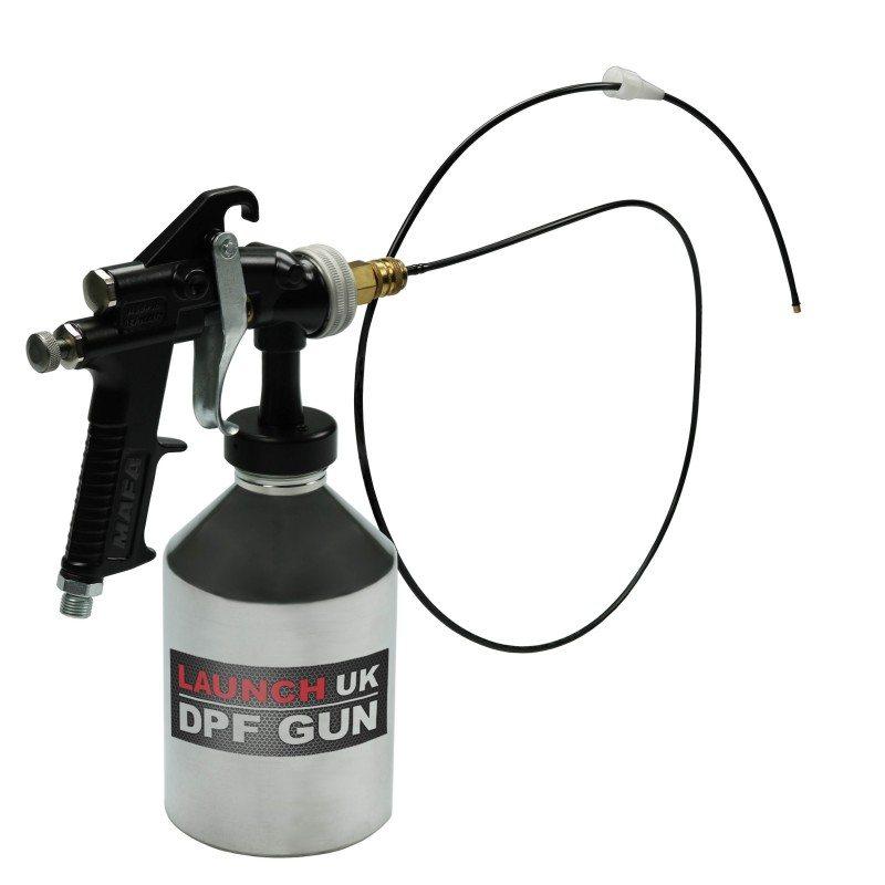 New diesel particulate filter gun from Launch UK