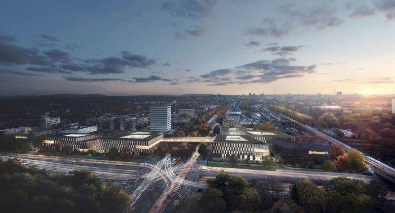 Design chosen for Continental's new headquarters