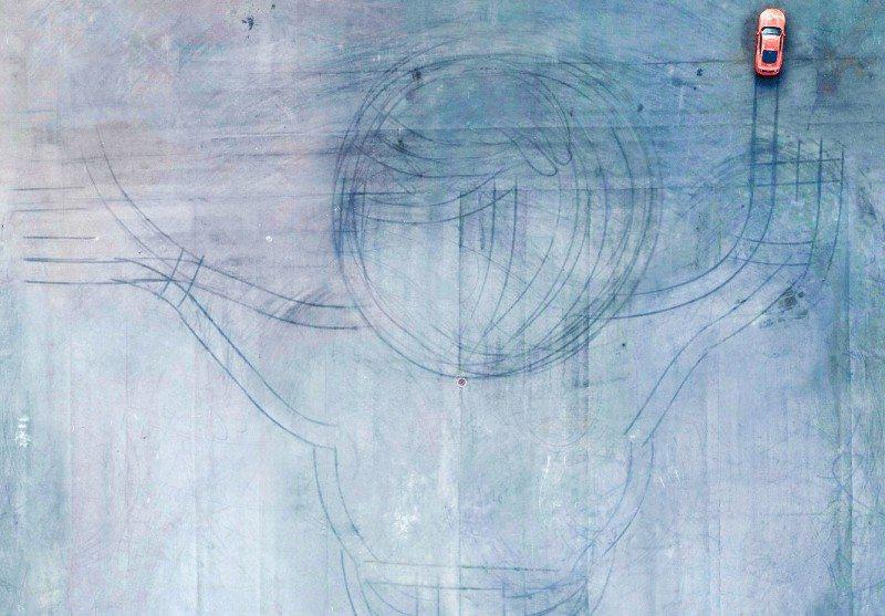 Falken drifts into the world of art