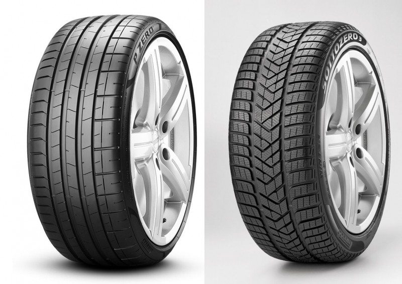 The Pirelli P Zero (l) and Winter Sottozero 3, along with the Scorpion Zero All Season, have gained further OE approvals