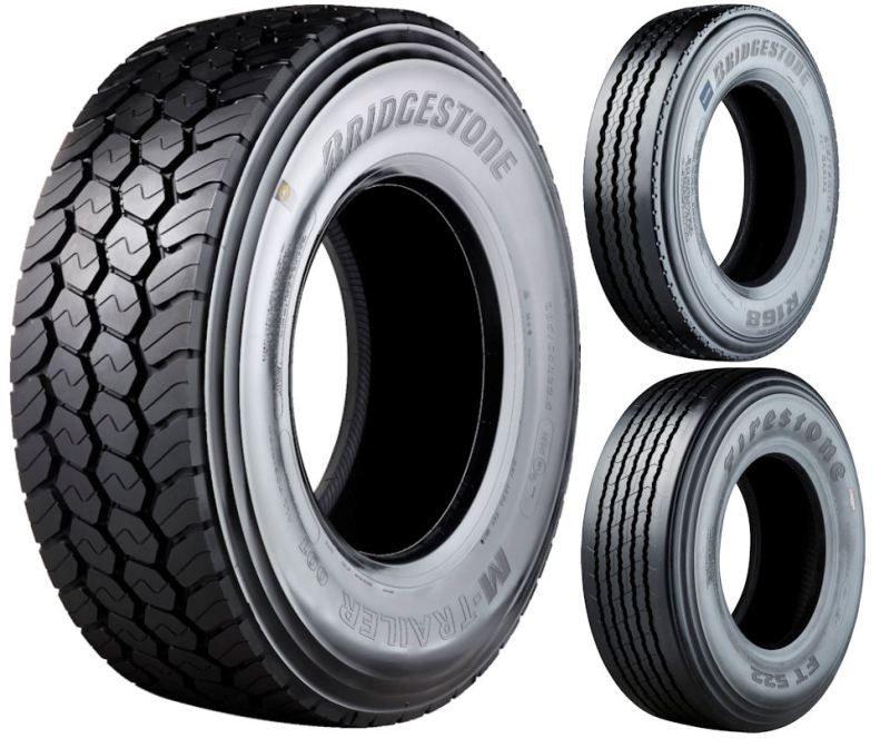 Bridgestone Bandag has introduced several trailer tyre treads