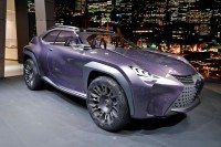 Designers at the GIC*L developed the Urban Crossover for the Lexus concept seen at last year's Paris show