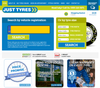Just Tyres launches new website