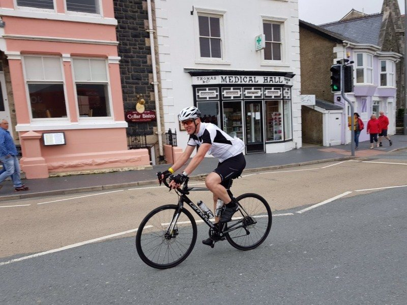 Sedgley gets on his bike for the Brain Tumour Charity