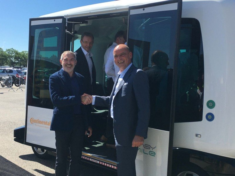 Continental acquires share in driverless mobility firm EasyMile