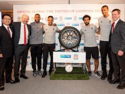 Falken Tyre becomes Liverpool FC partner