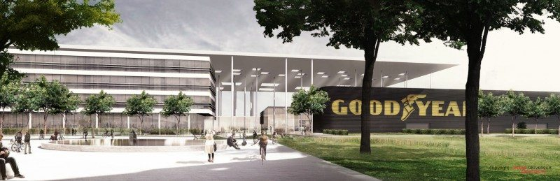 Development partners selected for Goodyear innovation centre project