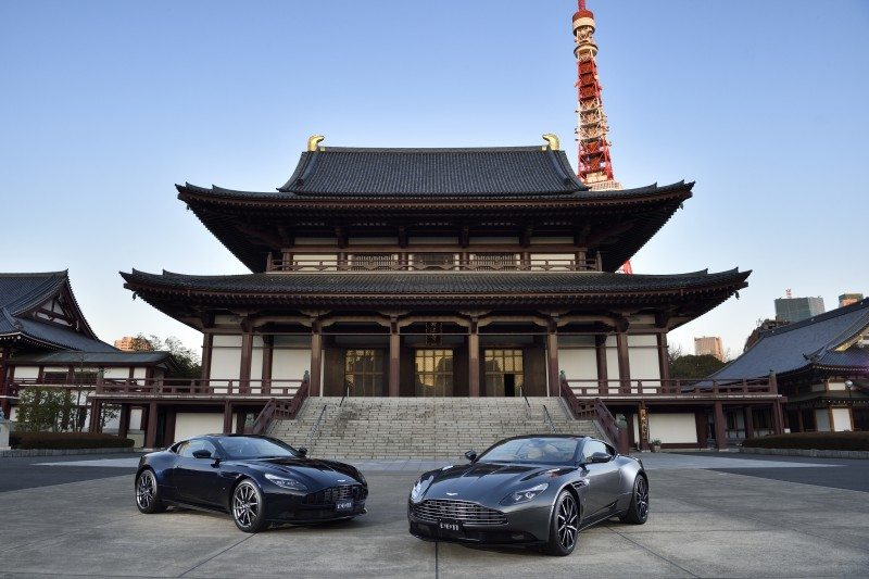 Bridgestone to benefit from £500 million Aston Martin UK-Japan trade deal