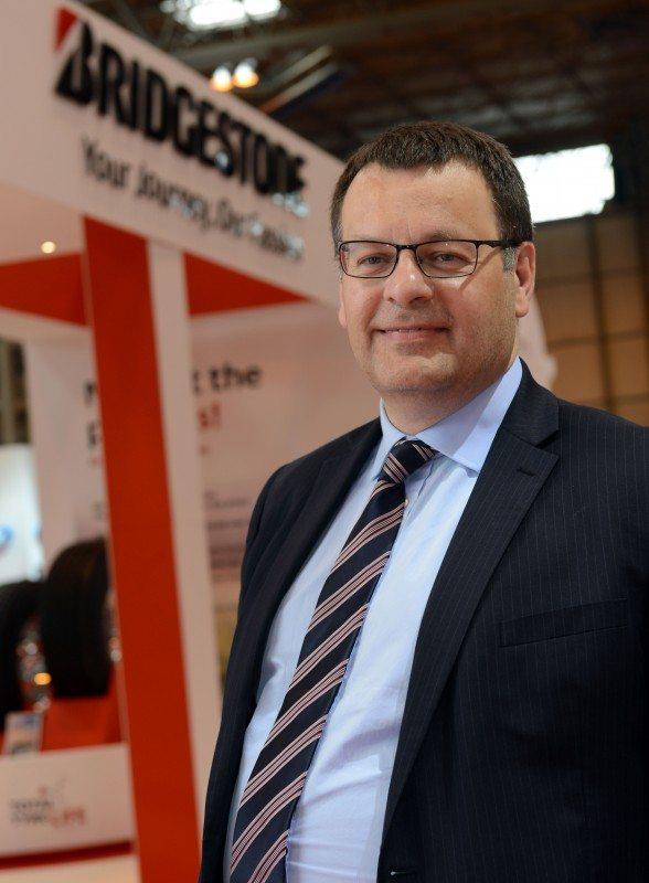 Bridgestone North Europe region commercial sales director Greg Ward