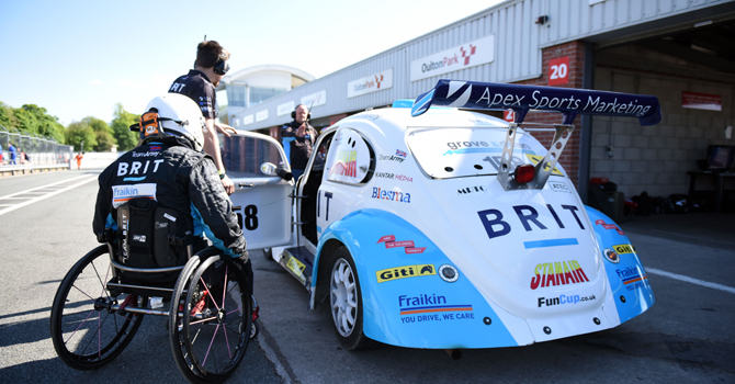 "Giti Tire views its sponsorship of Team BRIT as ""the start of a wonderful friendship"""