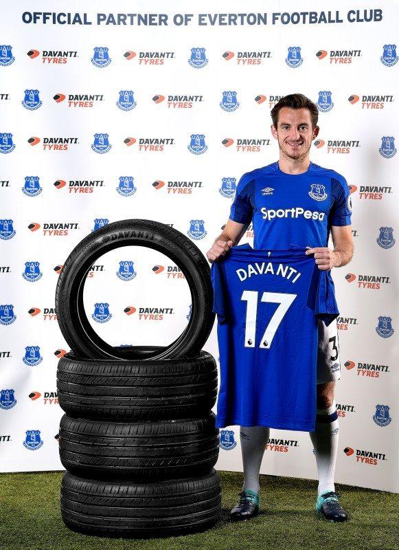 Stalwart Everton left back, Leighton Baines introduces the Davanti partnership