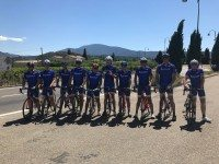 Michelin cycling team raises over £2000 for charity