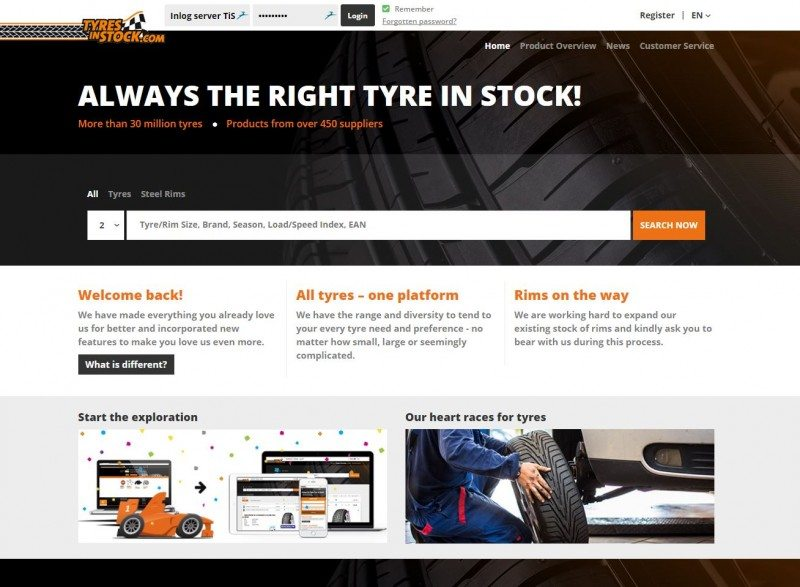 Tyres in Stock launches new webshop