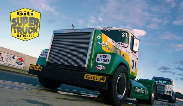 Australian truck race series running on Giti tyres