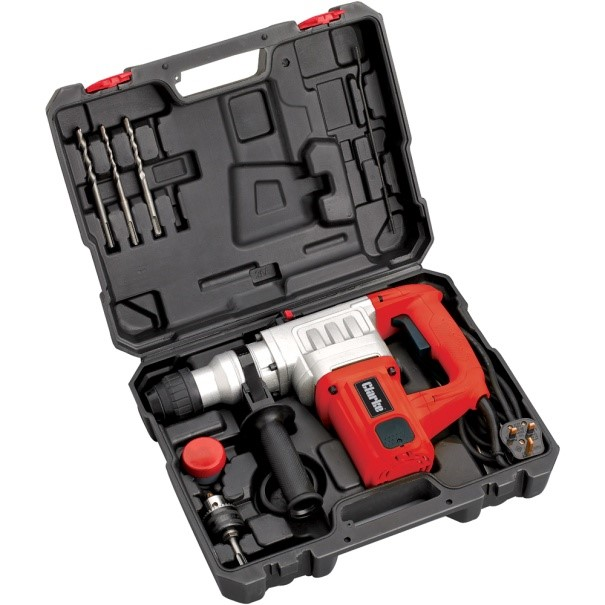 New Clarke SDS+ rotary hammer drill available at Machine Mart