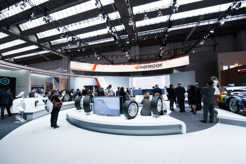 Hankook presenting tyre developments at IAA