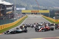 Hamilton wins Spa-Francorchamps 'sprint'