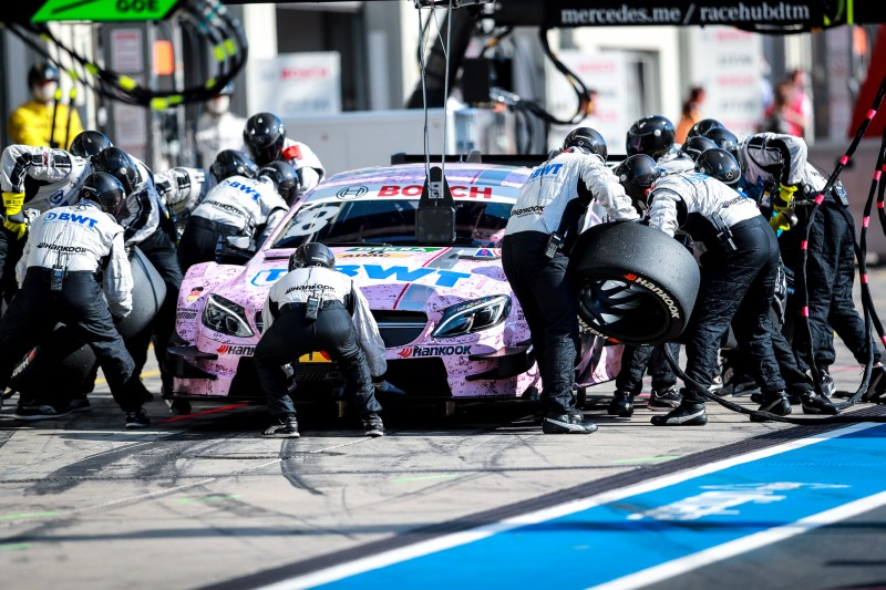 Tyre management will be key to succeeding at the Nürburgring rounds of the DTM championship