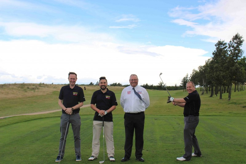 More than 30 players took part in the four ball stableford tournament