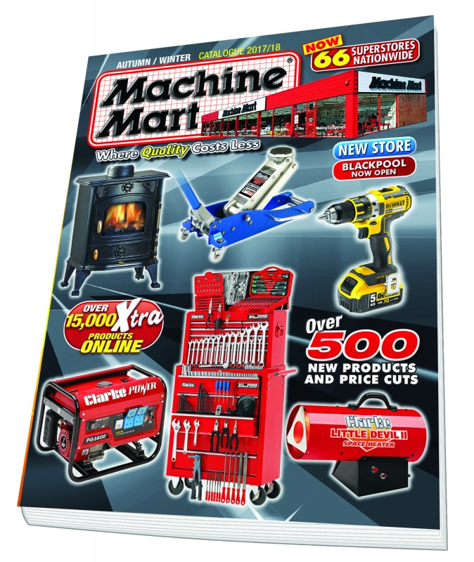 Machine Mart's has released its new catalogue