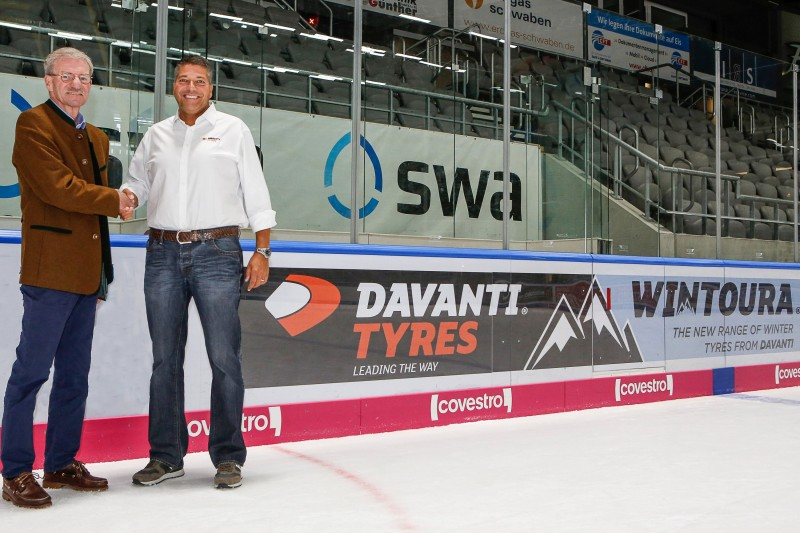 Davanti's official partnership with the Panthers has been led by the company's European Sales Director, Michael Eckert
