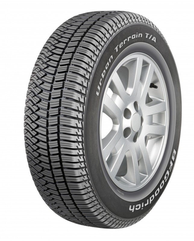 The BFGoodrich Urban Terrain T/A tyre is a move in a more road-going direction for the famous off-road brand