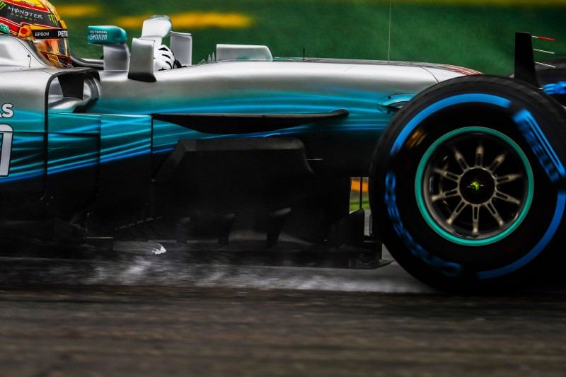 Lewis Hamilton displayed his mastery of Monza in all conditions as he converted pole position taken in the wet on the Saturday into victory on a warm, dry Sunday