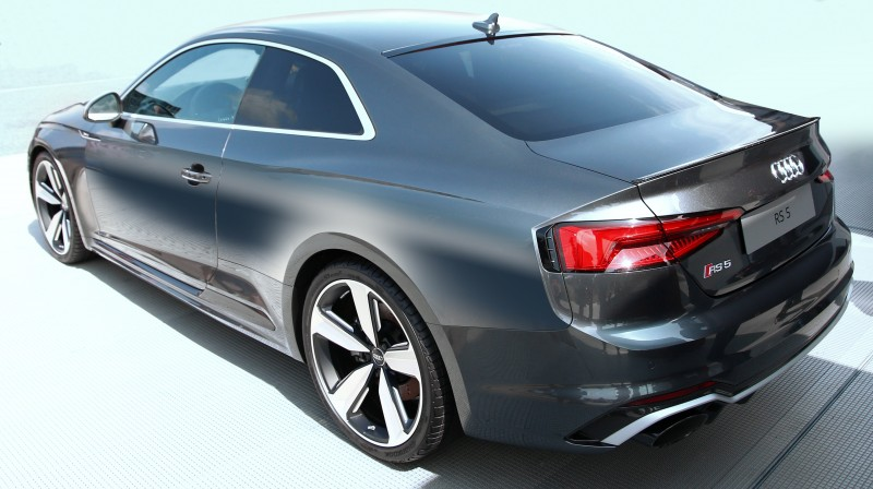 The Hankook Ventus S1 evo² with sound absorber technology will be fitted to the new Audi RS5 Coupé