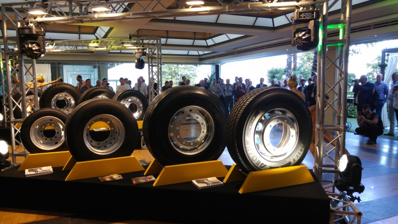Aeolus' third generation Neo commercial tyre series was launched at a large dealer event in northern Italy