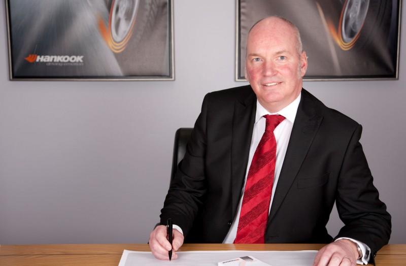 Hankook Tyre UK's 'No. 1' employee Ian Mayoll retiring