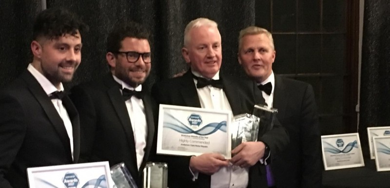 Awards for Servicesure Autocentre garages