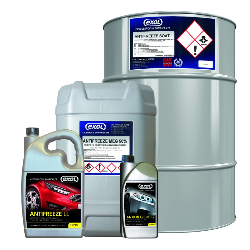 Exol Antifreeze Meets Volvo Specification Tyrepress