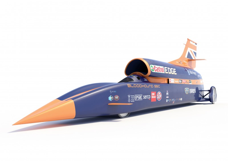 Avon Tyres is sponsoring the Bloodhound Project, supplying tyres for use on the Bloodhound SSC's support vehicles in the desert