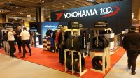 Yokohama unveil products, display Premier League trophy at Autosport International