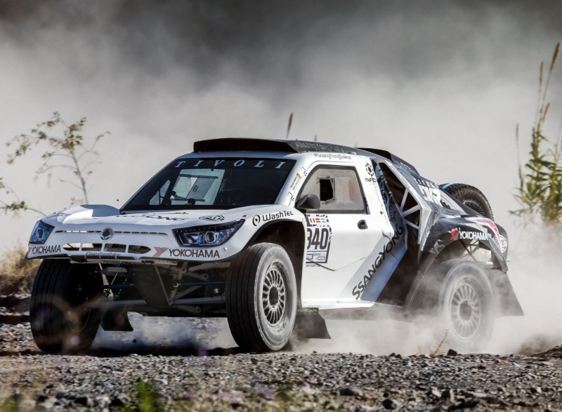 Yokohama sponsoring Ssanyong Motorsport in Dakar Rally